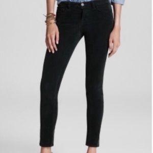 Madewell Black Skinny Corduroy Pants 27
